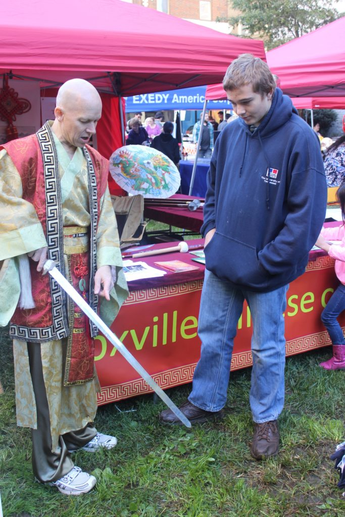 Knoxville Chinese Culture booth