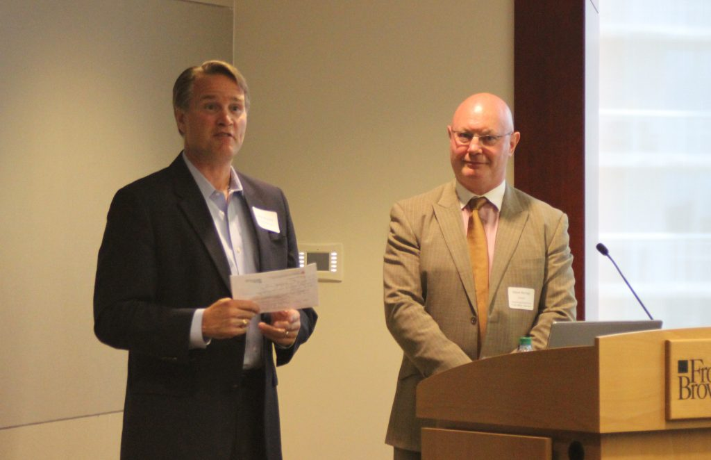 photo of John Wagster and Steve Barclay