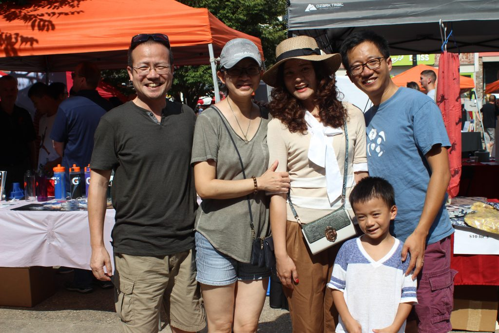 friends of TNCN at Knoxville Asian Festival 2017
