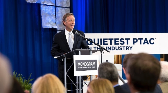 Governor Bill Haslam speaks on Monogram Expansion