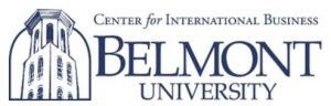 Belmont University Center for International Business logo