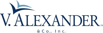 V Alexander logo